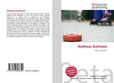 Обложка Andreas Karlsson