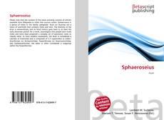 Bookcover of Sphaeroseius
