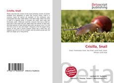 Couverture de Crisilla, Snail