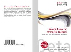 Second Essay for Orchestra (Barber) kitap kapağı
