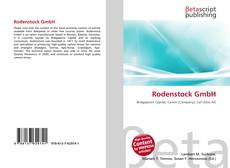 Bookcover of Rodenstock GmbH