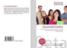 Portada del libro de Universidad Católica