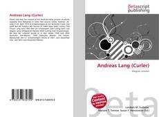 Buchcover von Andreas Lang (Curler)