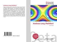Capa do livro de Andreas Lang (Politiker)