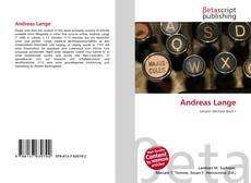 Capa do livro de Andreas Lange