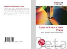 Taylor and Sennacherib Prisms kitap kapağı