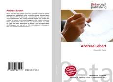 Couverture de Andreas Lebert