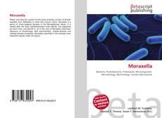 Bookcover of Moraxella