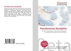 Pseudomonas Alcaliphila kitap kapağı