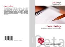 Обложка Taylors College