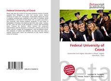 Federal University of Ceará的封面