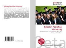 Salesian Pontifical University kitap kapağı