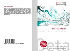 Bookcover of TA-100 Index