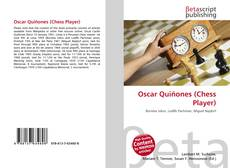 Bookcover of Oscar Quiñones (Chess Player)