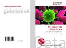 Bookcover of Pseudomonas Denitrificans