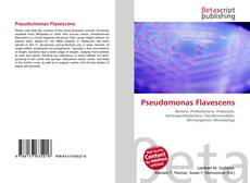 Bookcover of Pseudomonas Flavescens