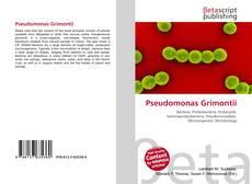 Bookcover of Pseudomonas Grimontii