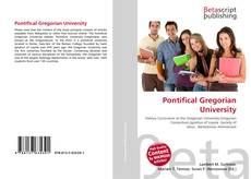 Pontifical Gregorian University kitap kapağı