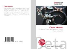 Bookcover of Oscar Nemon