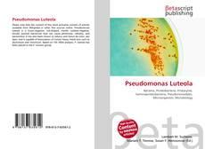 Bookcover of Pseudomonas Luteola