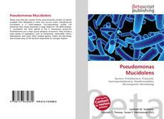 Pseudomonas Mucidolens kitap kapağı