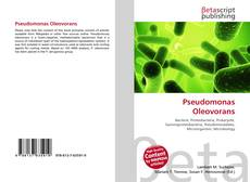 Bookcover of Pseudomonas Oleovorans