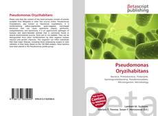 Bookcover of Pseudomonas Oryzihabitans