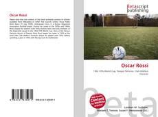 Portada del libro de Oscar Rossi