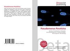 Bookcover of Pseudomonas Parafulva