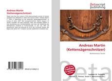 Borítókép a  Andreas Martin (Kettensägenschnitzer) - hoz