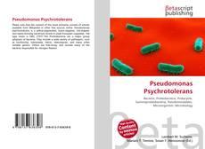 Bookcover of Pseudomonas Psychrotolerans