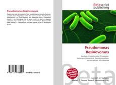 Bookcover of Pseudomonas Resinovorans