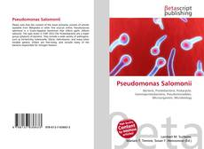 Bookcover of Pseudomonas Salomonii