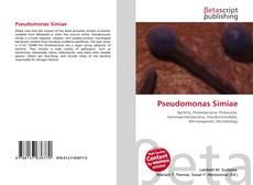 Bookcover of Pseudomonas Simiae