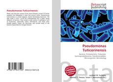 Bookcover of Pseudomonas Tuticorinensis