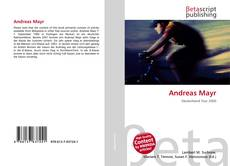 Bookcover of Andreas Mayr