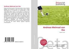 Capa do livro de Andreas Meinrad von Ow