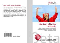 Bookcover of Our Lady of Fatima University