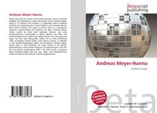 Bookcover of Andreas Meyer-Hanno