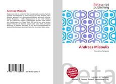 Portada del libro de Andreas Miaoulis