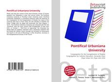 Pontifical Urbaniana University kitap kapağı