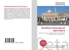 Обложка Pontifical University of John Paul II