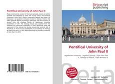 Pontifical University of John Paul II kitap kapağı