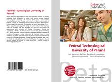 Bookcover of Federal Technological University of Paraná