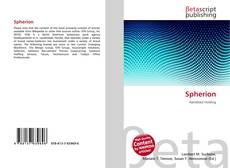 Bookcover of Spherion