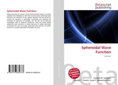 Bookcover of Spheroidal Wave Function