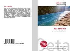 Bookcover of Taz Estuary