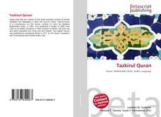 Tazkirul Quran kitap kapağı