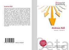 Bookcover of Andreas Räß