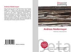 Обложка Andreas Niedermayer